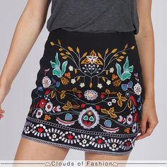 Lovely chinese patterned skirt
