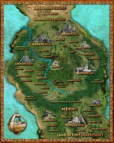 Map of the book of mormon