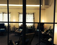 A peek into the community acupuncture clinic at Relief Acupuncture