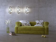 Create a recycled jewelry look for your wall with Varaluz Fascination Collection's sconces.