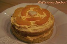Aprikosenschaum-Schokoladenbiskuit-Törtchen - Hefte raus: backen Pancakes, Wordpress, Happy Birthday, Breakfast, Desserts, Food, Treats, Dessert Ideas, Pies