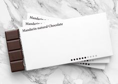 Yuta Takahashi designs minimal packaging for chocolate bars