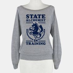 State Alchemist in Training | T-Shirts, Tank Tops, Sweatshirts and Hoodies | HUMAN