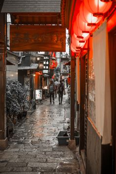 Houzenji-yokocho, OSAKA JAPAN 法善寺横丁