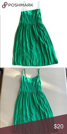 Old Navy emerald Green sundress EUC and super pretty and comfortable Old Navy Dresses Mini
