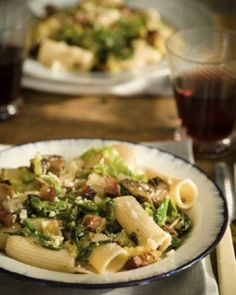 Pasta with Savoy Cabbage Very good, used water and chicken bouillion instead of vegie broth