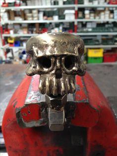 steel skull welding volkswagen