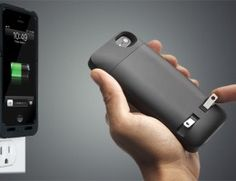 Plug-In Charger iPhone Case