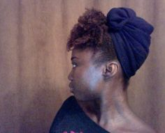 how to for a wrap for natural or curly hair