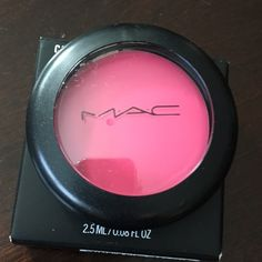 "New! Mac Casual Color ""Young at Heart""  This item is new and in its original box. This is a multipurpose item, can be worn on the lips, eyes and cheeks. It's great for all skin types specially a dryer skin. Give you a glow but not oily effect. Can be easily applied with any brush. MAC Cosmetics Makeup Blush"