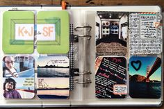 rukristin Project Life January pages using the Amy Tangerine Plus One line