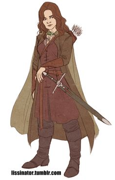 Female Aragorn by lissinator on tumblr