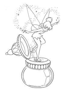 Disney Målarbilder för barn. Teckningar online till skriv ut. Nº 246
