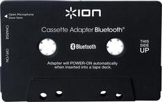 Ion Audio - Cassette Bluetooth Adapter - Black, ITR20