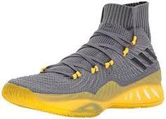 online store 18b13 3e438 adidas Mens Crazy Explosive 2017 Primeknit Basketball Shoes,  FourBlackGrey Five, M US)