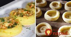 Perfektné pohostenie pre návštevy: Plnené košíky zo zvyšnej zemiakovej kaše