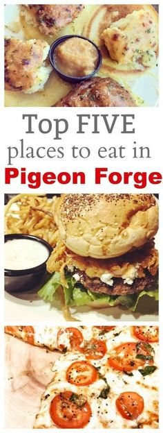 Top Five Favorite Places to Eat in Pigeon Forge