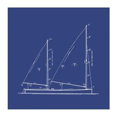 I pinned this Sailboat Blueprint Framed Wall Art III from the Big Fish Art event at Joss and Main!