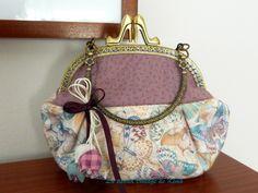 Bolso+de+mano+con+boquilla+-Mariposas-+de+La+Tienda+Vintage+de+Kima+por+DaWanda.com