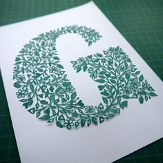 Folk Art Papercuts by Suzy Taylor: Papercut Topiary - cool crafts!