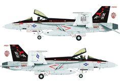 VFA-147 200 2012 | F/A-18E VFA-147 | Andrew Borovyh | Flickr