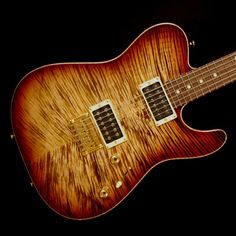 Tom Anderson  Hollow Cobra - Tiger Eye Burst