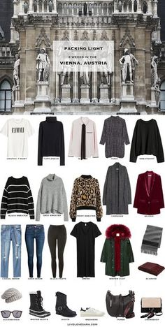 Winter Travel Packing, Europe Travel Outfits, Packing For Europe, Travel Capsule, Winter Travel Outfit, Packing List For Travel, Winter Outfits, Fall Packing, Packing Outfits