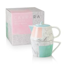 Buy the Carrara Tea for One at Oliver Bonas. Enjoy free UK standard delivery for orders over £50.