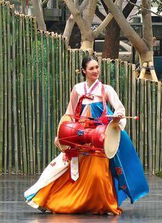 Korean Traditional Dance Performance at the Seoul Sejong Center