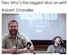 Love Chandler's reaction!