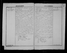 Francesco Barbera & Maria Rallo 1891 marriage record