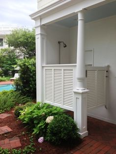 Curious Details: More Seaside Florida ~ Outdoor Showers