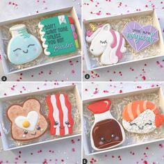 """463 Likes, 5 Comments - Judit Reding (@thesweetdesignsshoppe) on Instagram: """"Im in love with @shelbyandcobakery valentines cookies!!!!! I am loving her sushi couple! The…"""""""