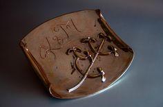 ceramic relief, handmade, wedding gift
