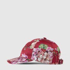 7668ea6bec3 Gucci Blooms silk baseball hat Gucci Hat