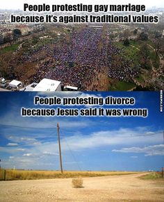 Just a bit tired of the double standard here on this 'traditional marriage' and 'family values' nonsense.
