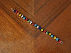 Here's the daisy chain bead bracelet you told everyone you made at camp. (You bought it at Claire's.)