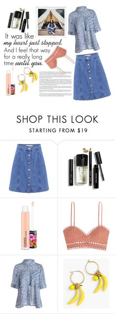 """until you."" by spencer-hastings-5 on Polyvore featuring moda, Polaroid, Être Cécile, Bobbi Brown Cosmetics, MAC Cosmetics, Zimmermann, J.Crew, quotes, pll i button"