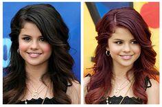 Black v/s Purple! Which hair color suits Salena gomez the most?