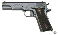 """Colt Model of 1911 U. Army As of March the state of Utah in the United States, as a way of honoring their native son, designer John Browning, adopted the Browning as the """"official firearm of Utah"""" Colt M1911, M1911 Pistol, Colt 45, Revolvers, Rifles, John Browning, Guns And Roses, Fire Powers, Firearms"""