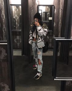 46 Likes, 0 Comments - Kim Duong Edgy Outfits, Winter Outfits, Cute Outfits, Fashion Outfits, Womens Fashion, Fashion Trends, Style Fashion, Mein Style, Outfit Goals