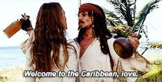 Welcome to the Caribbean, love