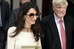 Forget About Being Mrs. Clooney, Amal Has Work to Do: What, you thought Amal Alamuddin was going to go Hollywood after marrying George Clooney?