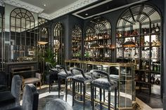 Take a peek inside this 50 Shades of Grey styled hotel. The newly opened Franklin Hotel in London makes a nod towards the book in its plush decor.