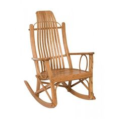 Hickory Big And Tall Rocking Chair Amish Made Porch