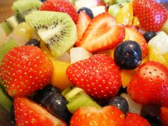 Best Fruit Salad Dressing: 1 cup pineapple juice, 1 tablespoon cornstarch, 1/4 cup sugar, 1 tablespoon lemon juice, and 1 beaten egg. Combine and cook on medium heat, stirring constantly, until thick. Pour over fruit when cooled.