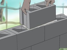4 Ways to Lay Concrete Blocks - wikiHow
