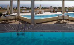The Majestic Hotel in Fira, Santorini, Greece