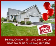 You're Invited! #OpenHouse #HomeForSale