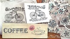 personalize any project using freezer paper, crafts, painted furniture